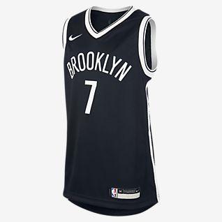 Nets Icon Edition Maillot Swingman Nike NBA pour Enfant plus âgé