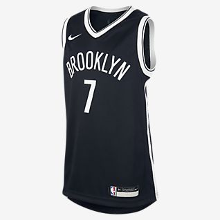 Nets Icon Edition Older Kids' Nike NBA Swingman Jersey