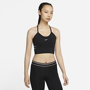 Nike Pro Dri-FIT Camiseta de tirantes con bra corta para mujer