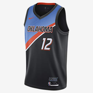 Oklahoma City Thunder City Edition Nike NBA Swingman Jersey