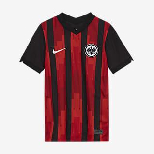 Eintracht Frankfurt 2020/21 Stadium Home Older Kids' Football Shirt