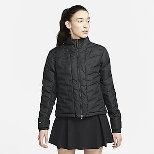 Nike Therma-FIT ADV Repel Dámská golfová bunda se zipem po celé délce