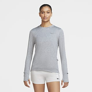 Nike Dri-FIT Element Camiseta de cuello redondo de running para mujer