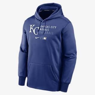 Nike Therma (MLB Kansas City Royals) Men's Pullover Hoodie