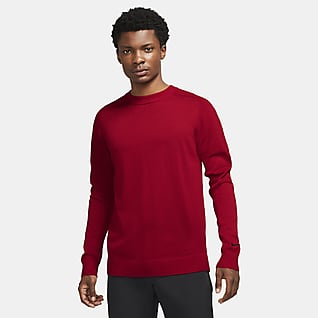 Tiger Woods Örgü Erkek Golf Sweatshirt'ü