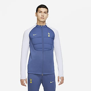 Tottenham Hotspur Strike Winter Warrior Veste d'entraînement de football à garnissage synthétique pour Homme