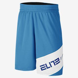Nike Elite Pantalón corto de baloncesto con estampado - Niño