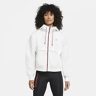 Jordan Winter Utility Γυναικεία φλις μπλούζα με κουκούλα