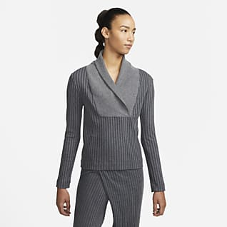 Nike Yoga Luxe Cover-up mit Rippdetails für Damen