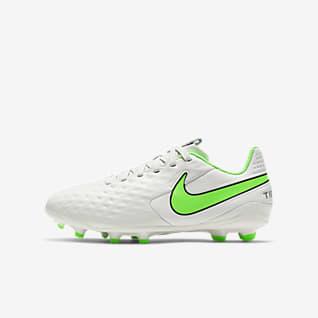 Nike Jr. Tiempo Legend 8 Academy MG Calzado de fútbol para múltiples superficies para niños talla pequeña/grande