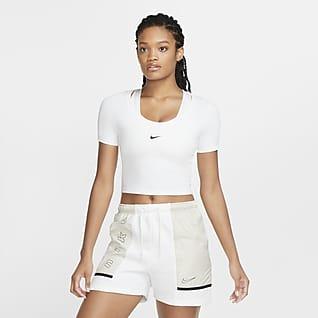 Nike Sportswear Essential Kurzarm-Kurzoberteil für Damen