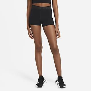 Nike Pro Calções de 7,5 cm para mulher