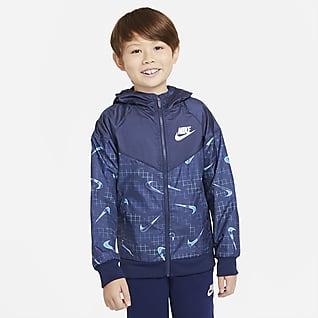 Nike Sportswear Windrunner Jakke til store børn (drenge)