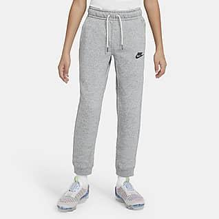 Nike Sportswear Zero Pantalones de entrenamiento para niños talla grande