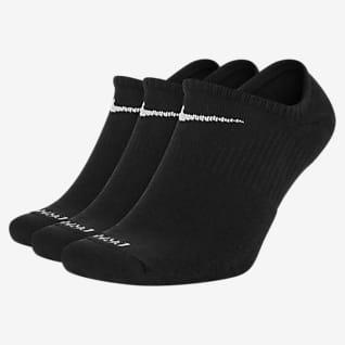 Nike Everyday Plus Cushioned No-Show Antrenman Çorapları (3 Çift)