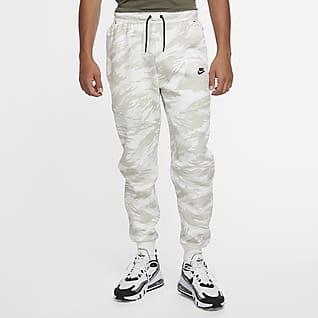 Nike Tech Fleece Pantalones de entrenamiento con estampado de camuflaje para hombre