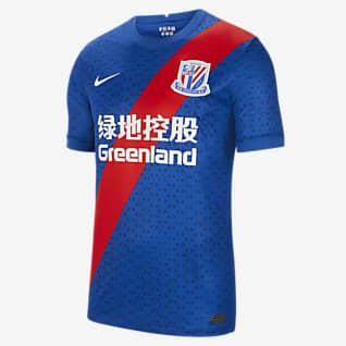 Shanghai Greenland Shenhua FC 2020/21 Stadium Home Camiseta de fútbol para hombre