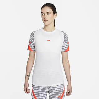 Nike Dri-FIT Strike Camiseta de fútbol de manga corta para mujer