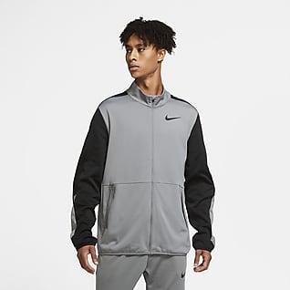 Nike Dri-FIT Chamarra tejida de entrenamiento para hombre