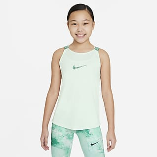 Nike Dri-FIT Elastika Canotta da training - Ragazza