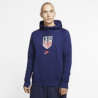 U.S. Men's Fleece Pullover Hoodie