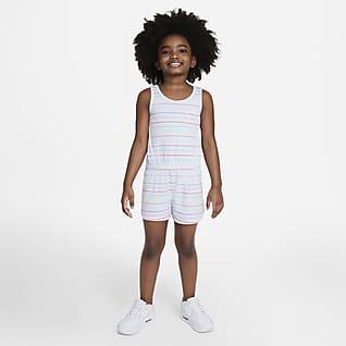 Nike Enterito a rayas para niños talla pequeña