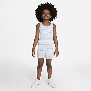 Nike Little Kids' Striped Romper