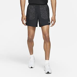 Nike Dri-FIT Flex Stride Run Division Löparshorts med innerbyxor 13 cm för män