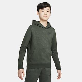 Nike Sportswear Zero Μπλούζα με κουκούλα για μεγάλα παιδιά
