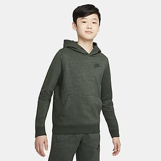 Nike Sportswear Zero Pullover-hættetrøje til større børn