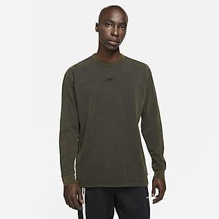 Nike Sportswear Långärmad t-shirt för män