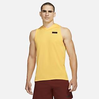 Nike Sport Clash Trainingstanktop met capuchon voor heren