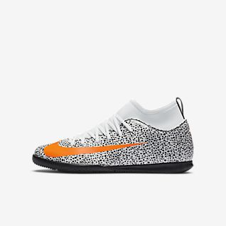 Nike Jr. Mercurial Superfly 7 Club CR7 Safari IC Younger/Older Kids' Indoor Court Football Shoe