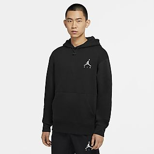 Jordan Jumpman Air Felpa pullover in fleece con cappuccio - Uomo