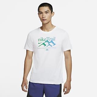 Nike Dri-FIT Trail เสื้อยืดวิ่งเทรลผู้ชาย
