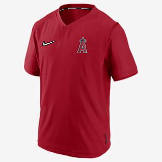 Nike Hot (MLB Los Angeles Angels) Men's Short-Sleeve Jacket