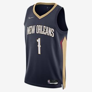 New Orleans Pelicans Diamond Icon Edition Nike Dri-FIT NBA Swingman Jersey
