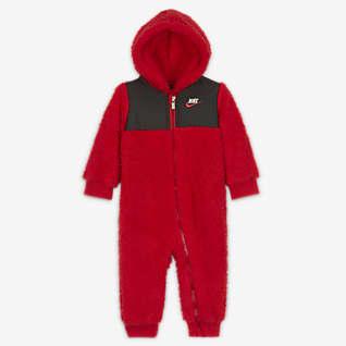 Nike Baby (0-9M) Full-Zip Fleece Coverall