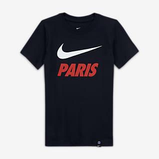 Paris Saint-Germain Older Kids' Football T-Shirt