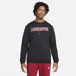Nike College Club Fleece (Morehouse) Crew Sweatshirt