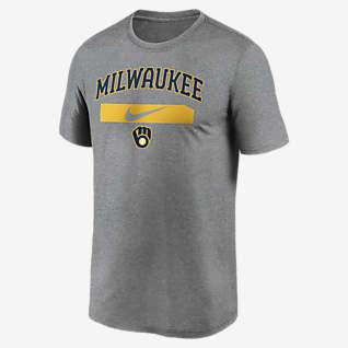 Nike Dri-FIT Swoosh Legend (MLB Milwaukee Brewers) Men's T-Shirt
