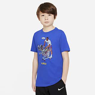 Nike Dri-FIT LeBron Playera de básquetbol para niño talla grande
