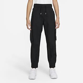 Nike Sportswear 大童(女孩)梭织工装长裤