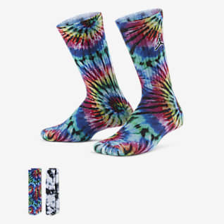 Jordan Calcetines largos teñidos para niños talla pequeña
