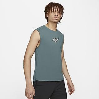 Nike Rise 365 Wild Run Haut de running sans manches pour Homme