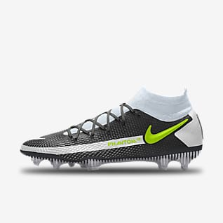Nike Phantom GT Elite By You Chaussure de football à crampons pour terrain sec personnalisable