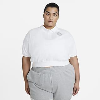Nike Sportswear Femme Dámské zkrácené tričko (větší velikost)