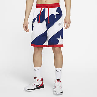 Nike Dri-FIT Throwback กางเกงบาสเก็ตบอลขาสั้นผู้ชาย