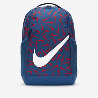 Nike Brasilia Mochila estampada para criança