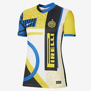 Inter Milan 2021/22 Stadium 4e tenue Maillot de football pour Femme